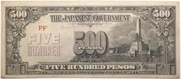 Philippines - 500 Pesos - 1945 - PICK 114a - SUP - Philippines