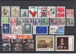 Denmark 1989 - Full Year MNH ** - Volledig Jaar