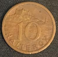 SLOVAQUIE - SLOVAKIA - 10 HALIEROV 1939 - KM 1 - Slovakia