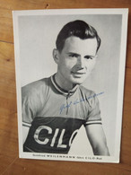 Cyclisme - Carte Publicitaire CILO : WEILENMANN - Cycling