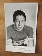 Cyclisme - Carte Publicitaire LA PERLE : QUEUGNET - Cycling