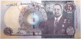 Tonga - 5 Pa'Anga - 2015 - PICK 45 - NEUF - Tonga