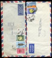 1967- Lot Of 3  IRAQ Air Mail Covers Mailed To Lyon - IRAK - Irak