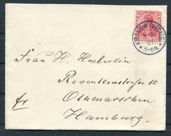 1907 Germany Krakow Meckl. - Altona Hamburg - Cartas