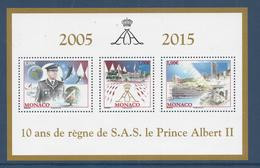 ⭐ Monaco - YT N° 2992 à 2994 - Neuf Sans Charnière - 2015 ⭐ - Nuovi