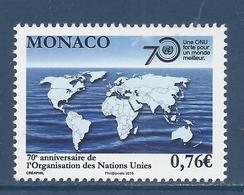 ⭐ Monaco - YT N° 3003 - Neuf Sans Charnière - 2015 ⭐ - Nuovi