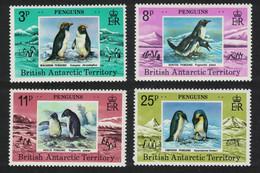 BAT Penguins Birds 4v 1979 MNH SG#89-92 - Nuevos