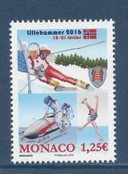 ⭐ Monaco - YT N° 3018 - Neuf Sans Charnière - 2016 ⭐ - Nuovi