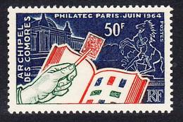 Comoro Is. 'Philatec' Intl Philatelic Exhibition 1964 MNH SG#41 MI#60 SC#60 - Unclassified