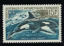 FSAT TAAF Orca Killer Whale 15f 1969 MNH SG#30 MI#52 SC#27A CV£20.- - Ongebruikt