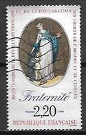 FRANCE    -    1989   -  Y&T N° 2575 Oblitéré.   Déclaration Des Droits De L' Homme  /  Fraternité - Oblitérés