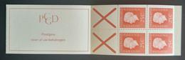 Nederland/Netherlands - Postzegelboekje Nr. PB9aF Gedecentreerd Geperforeerd (postfris) - Booklets
