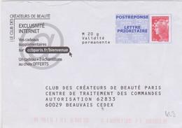 Postreponse Beaujard  20g  Club Des Créateurs De Beauté Physiq Demaq 4 Produits Lot 11P491 - Prêts-à-poster: Réponse /Beaujard