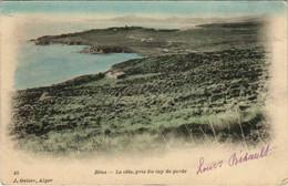 CPA AK BONE La Cote Pris Du Cap De Garde ALGERIE (1088709) - Annaba (Bône)