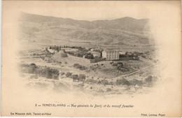 CPA AK TENIET-EL-HAAD Vue Generale Du Bordj ALGERIE (1088610) - Autres Villes