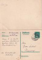 ALLEMAGNE 1928     ENTIER POSTAL/GANZSACHE/POSTAL STATIONARY CARTE AVEC REPONSE DE ARNSDORF - Enteros Postales
