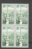 SAAR...1954:Michel348mnh** Block Cat.Value $12.00 - Unused Stamps