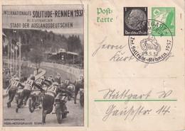 ALLEMAGNE 1937     ENTIER POSTAL/GANZSACHE/POSTAL STATIONARY CARTE ILLUSTREE DE STUTTGART - Enteros Postales