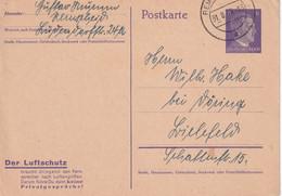 ALLEMAGNE 1943   ENTIER POSTAL/GANZSACHE/POSTAL STATIONARY CARTE DE REMSCHEID - Postwaardestukken