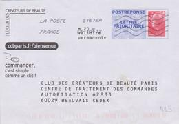 Postreponse Beaujard France Club Des Créateurs De Beauté Craquez Pour Le Parfum Les Douceurs Parfumées 7 Produits 11P291 - Prêts-à-poster: Réponse /Beaujard