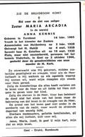 Zuster Maria Arcadia Anna Kennis ° Turnhout 1905 + Geel 1965 - Religion & Esotericism