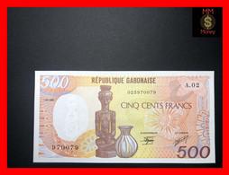 GABON  500 Francs  1.1.1985   P.  8   UNC - Gabon