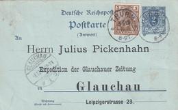 ALLEMAGNE 1900 ENTIER POSTAL/GANZSACHE/POSTAL STATIONARY CARTE DE THURM - Cartas