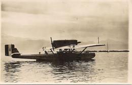 Aviation - Hydravion Italien - Ouchy-Lausanne -1928 - Rarissime - Otros