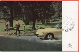 Tematica- Automobili - 1964 - 25 Michelangiolesca - Autovetture Citroen DS- Squalo - Viaggiata Da Forlì Per Premilcuore - Coches