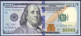 USA 100 Dollars 2009A  F - STAR  - UNC # P- 536 < F - Atlanta GA > - Billets De La Federal Reserve (1928-...)
