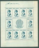 BRAZIL # 466 -  PRESIDENT GETULIO  VARGAS / ESTADO NOVO  -  TYPE 9 - 10 POINTS  -  MH 1938 - Ungebraucht
