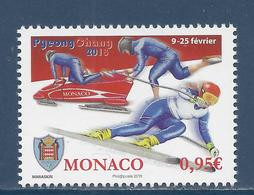 ⭐ Monaco - YT N° 3120 - Neuf Sans Charnière - 2018 ⭐ - Nuovi