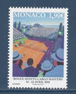 ⭐ Monaco - YT N° 3121 - Neuf Sans Charnière - 2018 ⭐ - Nuovi