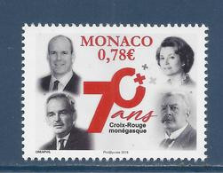 ⭐ Monaco - YT N° 3127 - Neuf Sans Charnière - 2018 ⭐ - Nuovi