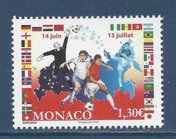 ⭐ Monaco - YT N° 3135 - Neuf Sans Charnière - 2018 ⭐ - Nuovi