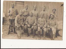 Militaria Carte Photo Militaires Soldats - Guerra 1914-18