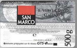 CARTE²-PREPAYEE-OMNICOM- 2MN GRATUITES-CAFE SAN MARCO-10/1999-NEUVE-TBE - Tarjetas Prepagadas: Otras