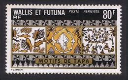 Wallis And Futuna Tapa Mats 80f Airmail 1975 MNH SG#242 MI#263 SC#C59 - Unused Stamps