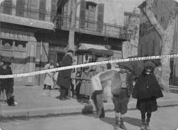 83 LA VALETTE DU VAR / PHOTO / 1895 - 1910 / COMMERCES / CONFISEUR - LIQUORISTE / BOUCHERIE / COMMERCE - La Valette Du Var