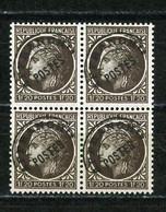 FRANCE -  PRÉOBLITÉRÉ CERES DE MAZELIN -  Yvert N° 91** BLOC DE 4 - 1893-1947
