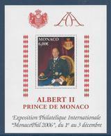 ⭐ Monaco - Bloc YT N° 92 - Neuf Sans Charnière - 2006 ⭐ - Blocs