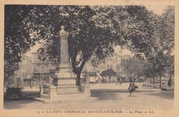 BANYULS-sur-MER (Pyrénés Orientales): La Place - Banyuls Sur Mer