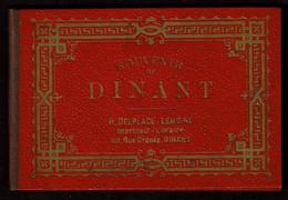 C1900 - Dépliant Touristique Multi-vues - DINANT - Edit. H. Delplace-Lemoine Imprimeur-Libraire - Voir Scans - Folletos Turísticos