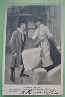 PIERROT FÊTARD - LUCETTE RENCONTRE PIERROT - PHOTO Fantaisie Couple Amour Blanchisseuse Métier - DOS SIMPLE - Paare