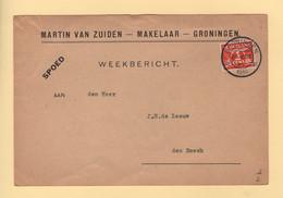 Pays Bas - Groningen - 1939 - Weekbericht - Poststempel