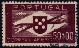✔️ Portugal 1941 - Aereo Poste Aerienne - Mi. 645 (o)  - €110 - Used Stamps
