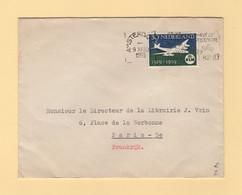 Pays Bas - Amsterdam - 1959 - Ambassade De France - Destination France - Poststempel