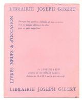 Buvard Librairie Joseph Gibert Vente - Achat - échange - Livres Neufs & D'occasion - Format : 20x16 Cm - L