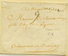 E8- CHARLEVILLE   Ardennes 37*3,5mm  Lenain N°2  Indice 24 Sans Date - 1701-1800: Precursori XVIII