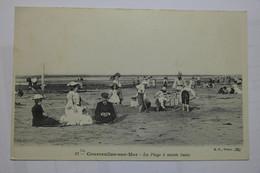CPA Courseulles Sur Mer La Plage à Marée Basse - TOX04 - Courseulles-sur-Mer